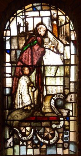 Witte kerkje - raam-7