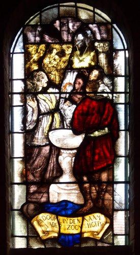 Witte kerkje - raam-13
