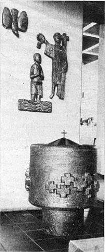 doopvont Michael Pfarrkirche Wanne Eickel